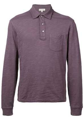 Alex Mill rugby polo top - Purple