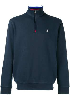 Polo Ralph Lauren quarter zip sweatshirt - Blue
