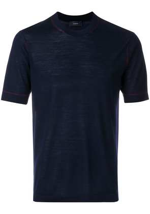 Joseph fine knit T-shirt - Blue