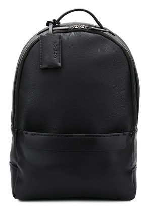 Calvin Klein pebbled oversized backpack - Black