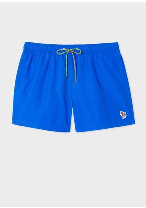 Men's Blue Zebra Logo Swim Shorts