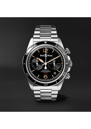 Br V2-94 Heritage Chronograph 41mm Stainless Steel Watch