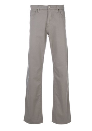 Armani Jeans loose-fit bootcut jeans - Grey