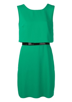 Emporio Armani loose fitted short dress - Green