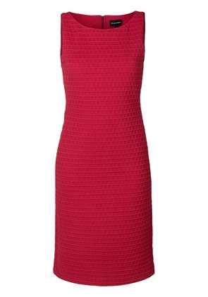 Emporio Armani textured sheath dress