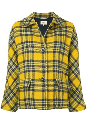 Bellerose check fitted jacket - Yellow