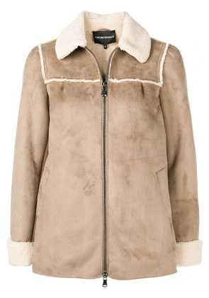 Emporio Armani perfectly fitted jacket - Neutrals