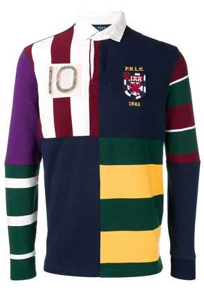 Polo Ralph Lauren patchwork polo shirt - Blue