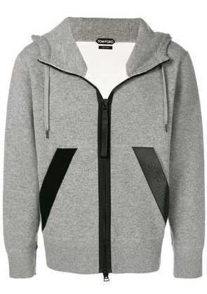 Tom Ford relaxed fit hoodie - Grey