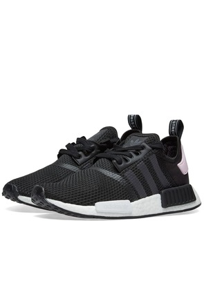 Women's Adidas NMD R1 Core Black & Clear Pink