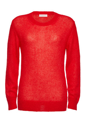 Majestic Knit Pullover with Mohair and Alpaca