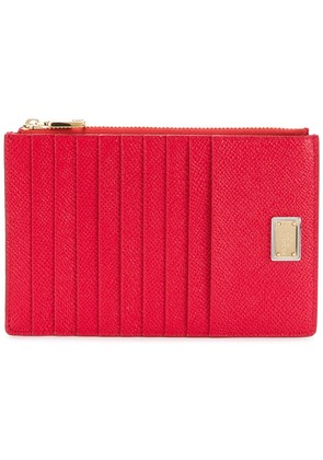 Dolce & Gabbana classic cardholder - Red