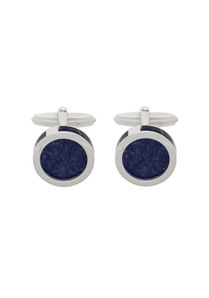 Lanvin geometric cufflinks - Black