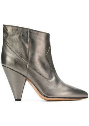 Buttero mettalic ankle boots - Silver