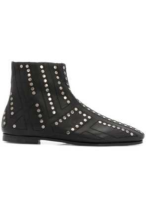 Bally studded ankle boots - Black