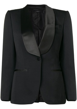 Tom Ford fitted V-neck blazer - Black