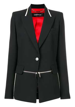Barbara Bui zip detail blazer - Black