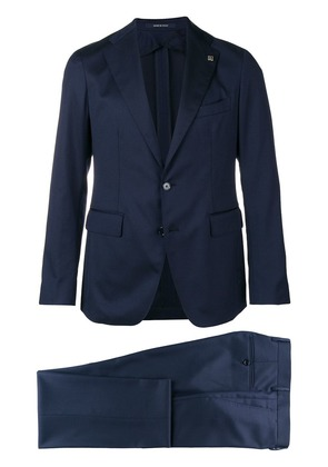 Tagliatore fitted formal suit - Blue