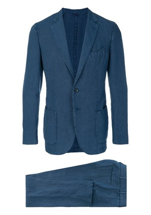 Dell'oglio two piece suit - Blue