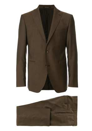 Tagliatore classic two-piece suit - Brown
