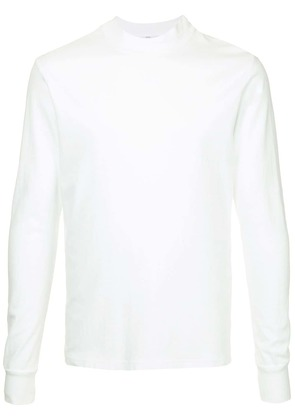 Attachment long-sleeved T-shirt - White