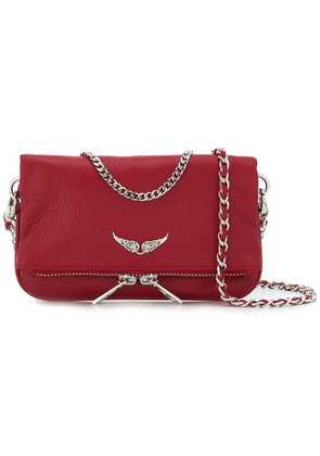 Zadig & Voltaire wings clutch bag - Red