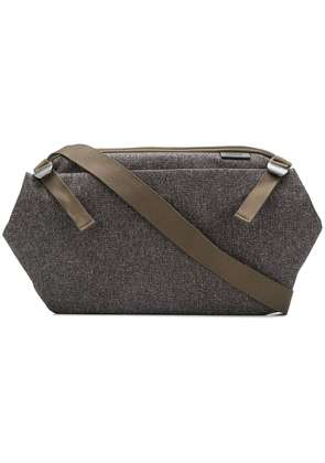 Côte & Ciel top zipped briefcase - Grey