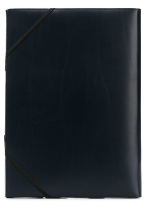 Isaac Reina A4 covered folder - Blue