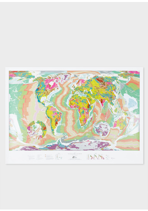 Small World Geological Map - The Future Mapping Company