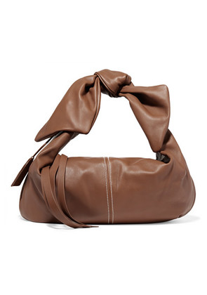 Acne Studios - Knotted Leather Tote - Tan