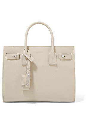 Saint Laurent - Sac De Jour Baby Textured-leather Tote - Ivory