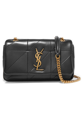 Saint Laurent - Jamie Small Quilted Leather Shoulder Bag - Black