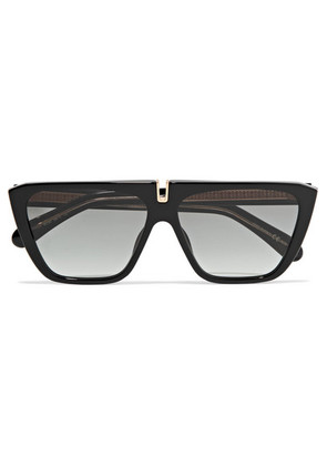 Givenchy - D-frame Acetate Sunglasses - Black