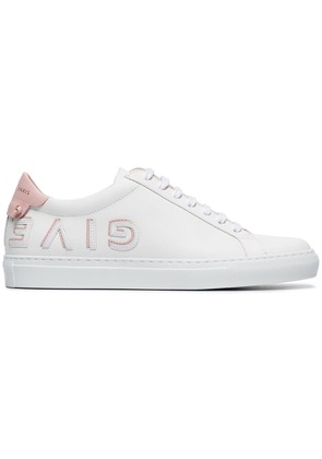 Givenchy Urban Street logo applique leather sneakers - White