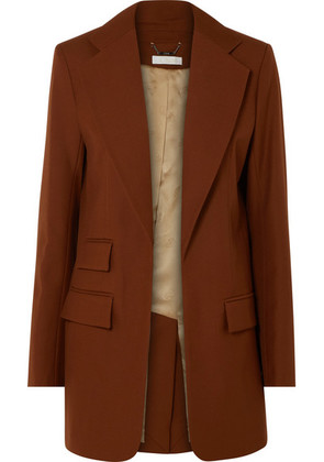 Chloé - Wool-gabardine Blazer - Brown