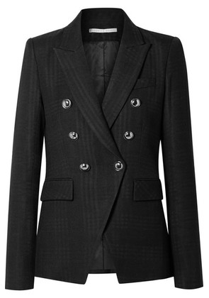 Veronica Beard - Miller Checked Twill Blazer - Black
