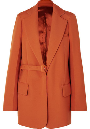 Joseph - Gemina Grain De Poudre Wool-blend Blazer - Orange