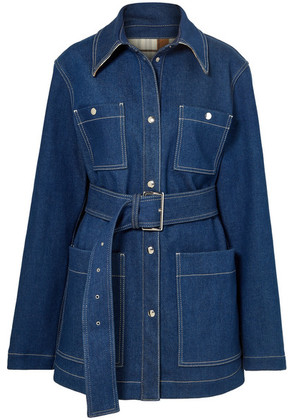 Acne Studios - Belted Denim Jacket - Mid denim