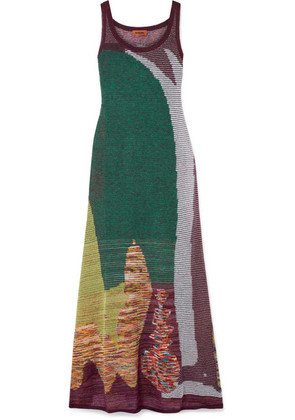 Missoni - Crochet-knit Maxi Dress - Green