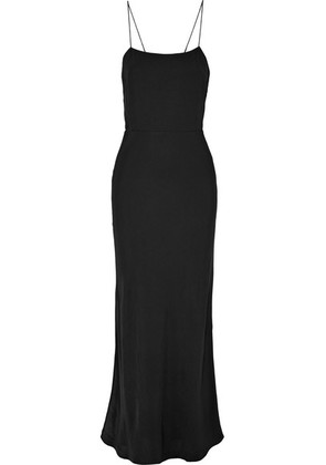 Jason Wu GREY - Open-back Crepe Maxi Dress - Black