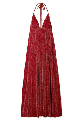 Missoni - Lurex Maxi Dress - Claret