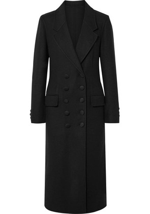 Burberry - Double-breasted Cashmere Coat - Black
