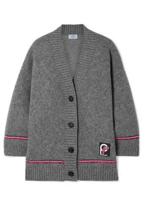 Prada - Wool Cardigan - Gray