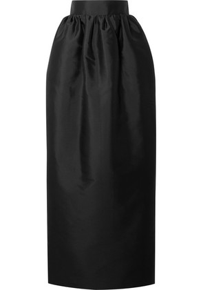 The Row - Ranel Silk-taffeta Maxi Skirt - Black