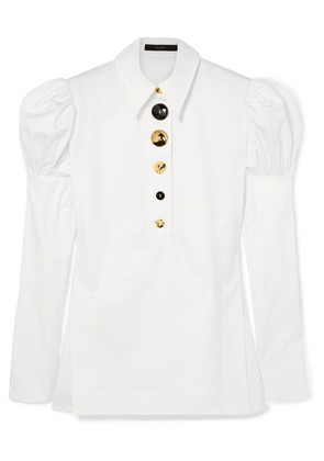 Ellery - Breuer Cotton-twill Shirt - White