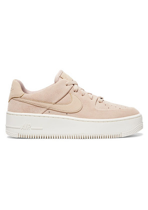 Nike - Nike Air Force 1 Suede Sneakers - Blush