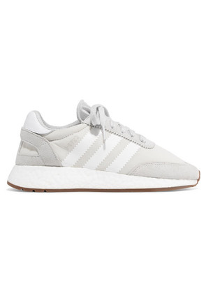 adidas Originals - I-5923 Suede And Leather-trimmed Mesh Sneakers - Gray