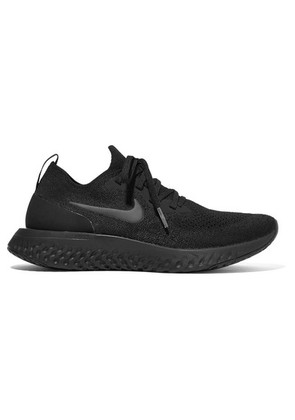 Nike - Epic React Flyknit Sneakers - Black