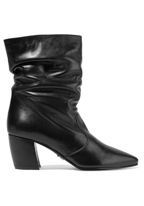 Prada - Leather Boots - Black