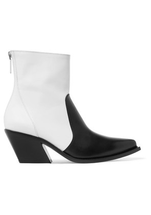 Givenchy - Leather Ankle Boots - White